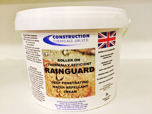 Rain Guard Cream Water Repellent - 3 Litres